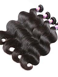 i capelli di colore naturale tessono l'onda del corpo della struttura di malesia 18 mesi 4 parti che tessono i capelli