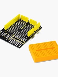 cheap -2017 New! Keyestudio Protoshield for Arduino with Mini Breadboard
