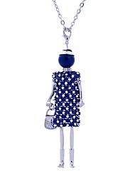 Жен. Ожерелья с подвесками Бижутерия Кружево Сплав По заказу покупателя Pоскошные ювелирные изделия Бижутерия Назначение Для сцены