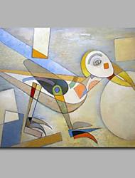 Недорогие -курица побег стены декор ручная роспись современные картины маслом современное произведение искусства стены