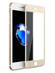 abordables -Vidrio Templado Protector de pantalla para Apple iPhone 7 Protector de Pantalla Frontal Alta definición (HD) Dureza 9H Anti-Arañazos