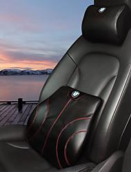 Settore automobilistico Kit di cuscino per poggiatesta e cuscini Per BMW Tutti gli anni Tutti i modelli Cuscini lombari per auto Pelle