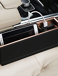 Front Passenger Seat Car Organizers For universal All years Leather