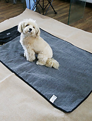 cheap -Cat Dog Bed Pet Mats & Pads Solid Keep Warm Wateproof Black