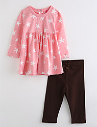 cheap -Baby Kids' Geometic Clothing Set Fall