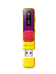 billige -mp3Player8GB 3.5mm Jack Knap