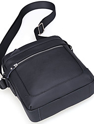 cheap -Men's Bags Cowhide Crossbody Bag Zipper for Event/Party Outdoor All Seasons Black Coffee
