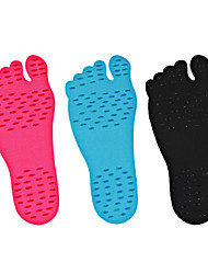 Beach Stealth Antiskid Insole Plantar Heat Insulation Waterproof  Foot Socks A pair of  Foot Protection Invisible Pad