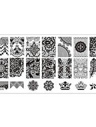 Nail Stamping Image Template Plates Stamper Scraper