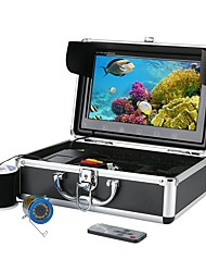 10 Inch Color Monitor 30M HD 1000tvl Underwater Fishing Video Camera Kit 12 PCS Infrared Lamp Lights