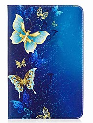 cheap -Butterfly Pattern Card Holder Wallet with Stand Flip Magnetic PU Leather Case for Samsung Galaxy Tab A 8.0 T350 T355 8.0 inch Tablet PC