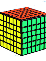 baratos -Rubik's Cube QI YI Warrior Cubo Macio de Velocidade Cubos mágicos Cubo Mágico Quadrada Dom