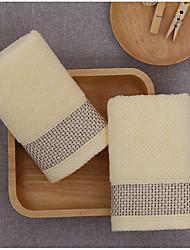 Недорогие -Свежий стиль Полотенца для мытья,Однотонный Высшее качество 100% хлопок Полотенце
