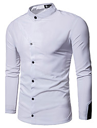 cheap -Men's Club Shirt - Solid