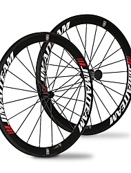 700CCx23 25 mm Road Bike Wheelsets Carbon Fiber Full Carbon Clincher Cycling 20/24 Spokes 50 mm