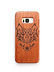 Case For Samsung Galaxy S8 Plus S8 Shockproof Pattern Back Cover Animal Hard Wooden for S8 Plus S8 S7 edge S7 S6 edge plus S6 edge S6 S6
