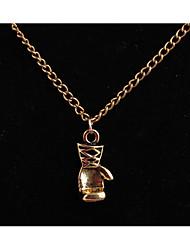 персонализированные ювелирные изделия для мужских женщин в ожерелье из сплава hip-hop для повседневных повседневных
