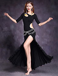 Belly Dance Dresses Women's Performance Modal Half Sleeve Dress