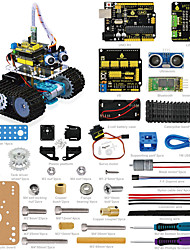 Keyestudio DIY Mini Tank Smart Robot Car Kit for Arduino Robot Starter  ManualPDF Installation VideoDemo Video5 Projects