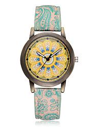 abordables -Mujer Cuarzo Reloj de Pulsera Reloj de Moda Chino Gran venta PU Banda Encanto