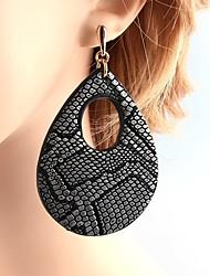 preiswerte -Damen Ohrstecker Tropfen-Ohrringe Schmuck Modisch individualisiert Leder Kupfer Tropfen Schmuck Für Normal