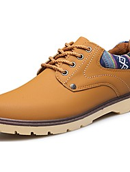 cheap -Men's Shoes PU Spring Fall Comfort Oxfords For Casual Blue Yellow Black