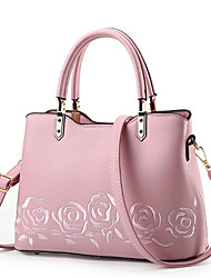 Women Bags All Seasons PU Tote Zipper for Casual Red Blushing Pink Sillver Gray Dark Red Khaki