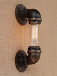 cheap -Ambient Light Wall Sconces AC 110-120 AC 220-240V E26 E27 Tiffany Rustic/Lodge Antique Simple Free Form LED Retro/Vintage Vintage Country