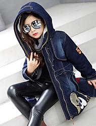 Girls' Print Jacket & Coat Fall Long Sleeve