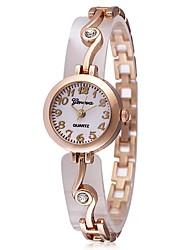 abordables -JUBAOLI Mujer Cuarzo Reloj de Pulsera Chino Gran venta Aleación Banda Encanto Casual Moda Cool Plata