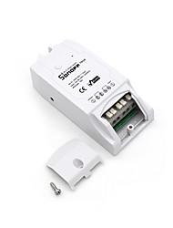 abordables -sonoff® th16 diy 16a 3500w maison intelligente wifi température sans fil thermostat app télécommande interrupteur prise