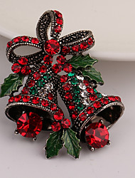 cheap -Women's Others Rhinestone Rhinestone Brooches - Gold Brooch For Christmas / Gift