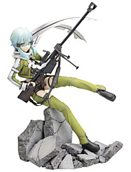 cheap -Anime Action Figures Inspired by Sword Art Online Cosplay PVC 22.5 CM Model Toys Doll Toy