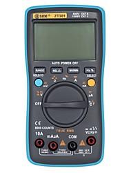 abordables -officiel bside 8000 compte ture rms multimètre numérique zt301 multifonctions ac / dc testeur de tension de température