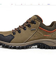 cheap -Running Shoes Mountaineer Shoes Men's Anti-Slip Rain-Proof Wearable Breathability Leisure Sports Low-Top Cowhide EVA Hiking Running