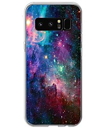 abordables -Funda Para Diseños Cubierta Trasera Cielo Suave TPU para Note 8 Note 5 Edge Note 5 Note 4 Note 3 Lite Note 3 Note 2 Note Edge Note