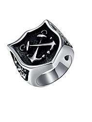preiswerte -Herrn Knöchel-Ring Schmuck Personalisiert Punk Edelstahl Aleación Geometrische Form Schmuck Halloween Strasse