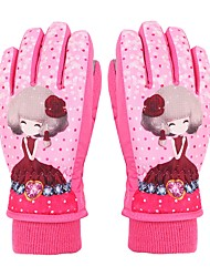 cheap -Ski Gloves Kid's Full-finger Gloves Keep Warm Protective Cloth Cotton Snow Sports Winter