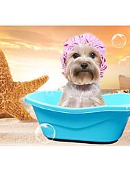 Недорогие -Собака Чистка Ванночки умывальник для ванной Зеленый Синий Розовый