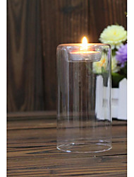 cheap -Modern/Contemporary Glass Candle Holders 1pc, Candle / Candle Holder