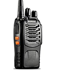 baratos -Baofeng UHF 400-470MHz 5W TOT VOX portátil Two Way Radio Walkie Talkie Transceiver Interphone