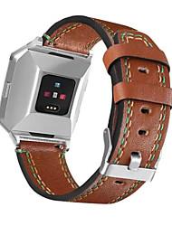 preiswerte -für fitbit ionische neueste echtes leder ersatz armband mode armband band