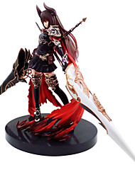 cheap -Anime Action Figures Inspired by Rage of Bahamut Olivia PVC 24 CM Model Toys Doll Toy