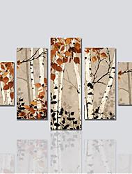 Недорогие -Холст для печати Холст С картинкой Декор стены For Украшение дома