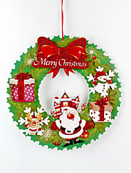 cheap -2pcs Christmas Decorations Wreaths & GarlandsForHoliday Decorations 36