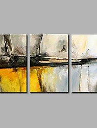 Hand-Painted Abstract Horizontal Panoramic,Artistic Abstract Nature Inspired Rustic Casual Birthday Modern/Contemporary Office/Business