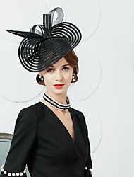 Tulle Feather Fascinators Hats Headpiece Classical Feminine Style