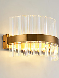 Luz Ambiente 20 LED Integrado Cristal Simple Moderno/Contemporáneo Para