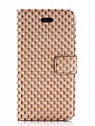 preiswerte -Hülle Für Apple iPhone X iPhone 8 Kreditkartenfächer Geldbeutel mit Halterung Flipbare Hülle Ganzkörper-Gehäuse Volltonfarbe Hart PU-Leder