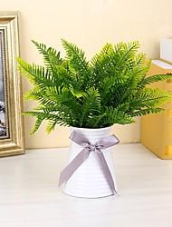 cheap -Artificial Flowers 5 Branch Modern / Contemporary Plants Tabletop Flower